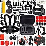 Leknes 54 en 1 Kit d'accessoires Pour SJ4000 SJ5000 GoPro Hero 4 Hero 3+ Hero 3 Hero 2 1 de ...