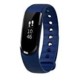 LETSCOM Tracker d'activité Smart Bracelet Connecté Sport Fitness Tracker Podomètre Calories Sommeil Bracelet Avec Écran Tactile Fitness Montre Connectée IP67 ...