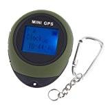 Lixada GPS de poche avec date et heure idéal pour le camping et les sports en extérieur