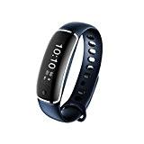 Montre Connectée Fitness Tracker, Kobwa Bluetooth 4.0 Etanche IP67 Bracelet Sportif Tracker D'activité Intelligent Podomètre Santé Smart Band pour IOS ...
