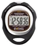 Motus Trainer MT35 Chronomètre avec mesurage des temps intermédiaires (Split time) Noir