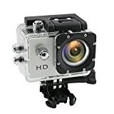 Multifonction Action Camera Xagoo® Caméra sport / Caméra embarquée 30M étanche, 170 degrés A + qualité haute résolution grand angle ...