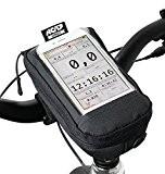 Nc-17Connect Pochette universelle pour smartphone pour guidon de vélo avec fermeture Velcro/pour iPhone, Samsung série Galaxy ou max. 7,5cm x ...
