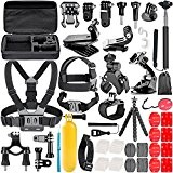 Neewer 58-in-1 Action Camera Kit d'accessoires pour GoPro Hero 4/5 Session, Hero 3plus/1/2/3/4/5, SJ4000/5000, Xiaomi Yi, Nikon et Sony Sports DV en ...