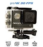 NEOCAM PRO - Caméra de sport 4K - Photo 16 MP - Ultra Haute définition - Marque Française - Écran ...