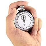 OneTigris Diamant 504 Le Chronomètre Mécanique L'enregistreur de 1/10 secondes avec 13 Bijous pour Sport