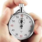 OneTigris Diamant 505 Le Chronomètre Mécanique L'enregistreur de 1/10 secondes avec Coffret pour Sport