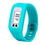Podomètre ,Fulltime®Numérique Podomètre LCD Étape Run Walking Distance Calorie Counter Bracelet