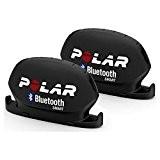 Polar Kit Capteur de Vitesse et Capteur de Cadence Bluetooth Smart