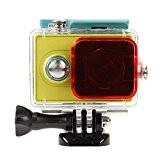 Polarizer Underwater Dive lentille filtre pour xiaomi yi action Camera