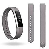 Pour Fitbit Alta Bracelet ,Clode® Remplacement de luxe en cuir véritable Band Bracelet Bracelet Pour Fitbit Alta Tracker