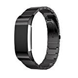Pour Fitbit Charge 2 Bandes Clode® Bracelet acier véritable Smart Band bracelet Fitbit Charge 2