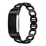 Pour Fitbit Charge 2 Bandes Clode® Bracelet en acier inoxydable authentique