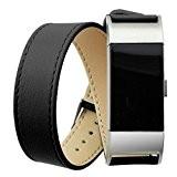 Pour Fitbit charge 2 Bracelet ,Clode® Longue en cuir véritable bande double tour Bracelet Bracelet Pour Fitbit charge 2