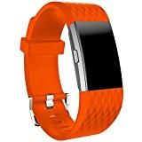 Pour Fitbit Charge 2 Bracelet Covermason Nouveau mode sport Silicone Bracelet bracelet Band Pour Fitbit Charge 2