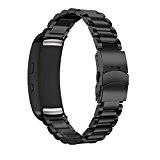 Pour Samsung Gear FIT2 SM-R360, Yistu Acier inoxydable Bracelet de montre pour Samsung Gear FIT2 SM-R360