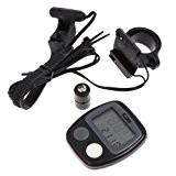 preadvisor (TM) 1écran LCD Cyclisme imperméable pour vélo Ordinateur Odomètre Indicateur de vitesse de vélo avec 14fonctions