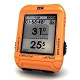 Pyle Cyclo mètre multi fonction numérique LED Orange