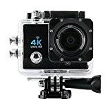 q3h Sports Action Camera DV WiFi 4K 2.7K 2pouces écran tactile 170° Wide Angle Lens