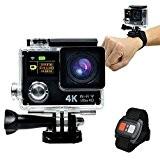 Quotidien original 4K Ultra HD 1080P Wifi Double affichage Mini DV imperméable Action Caméra sport || imperméable sport Appareil photo ...