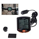 ryase (TM) nouvelle bogeer YT-813imperméable Import Capteurs Écran LCD rétroéclairé Mountain vitesse Odomètre Ordinateur de vélo pour vélo de route