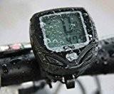 Sans fil LCD Odomètre Ordinateur pour Vélo Bicyclette compteur de vitesse imperméable à l'eau