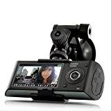 SHOPINNOV Boite noire voiture Dashcam Double camera G-sensor Ecran 2,7 pouces