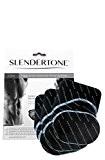 Slendertone ABS Lot de 3électrodes de remplacement-Noir