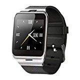 "Smartwatch,Fulltime® GV18 Bluetooth Intelligente SmarMontre Watch Etanche Wrist Watch Phone Mate 1,55""GSM SIM NFC Caméra Sommeil Surveillance phone NFC Camera ..."