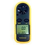 smtni GM816Écran LCD numérique Vent Vitesse Mesure de température Jauge de mesure anemometri/Air/Velocity -- Idéal outil par planche à voile, ...