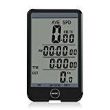 SNAN Ordinateur de vélo sans fil,Multi Fonction Odomètre de Vélo, Compteur de Vitesse Vélo Tachymètre pour vitesse et distance d'équitation ...