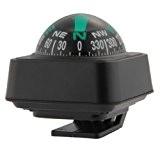 SODIaL(R) Boussole Tableau de bord Support tableau de bord Navigation Voiture Bateau Camion Noir