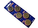 Sony Piles CR2450 PILES BOUTON Lithium 3 V LOT de 5 piles