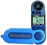 Speedtech Windmate Wm-200 Station Météo portable / anémomètre a main (vitesse et la direction du vent) Bleu