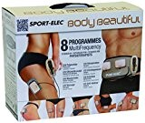 Sport-Elec Body Beautiful muni de 2 modules plus ceinture abdominale