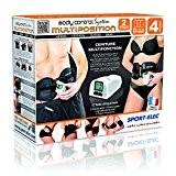Sport-Elec Ceramic Body Solution Ceinture multifonction  Noir