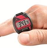 Sportcount chrono 200 chronomètre compteurs de tours doigt pour les nageurs, coureurs et ciclusti avec 200 mémoires