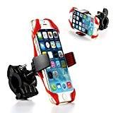 Support de smartphone universel pour guidon vélo ou moto , Compatible avec la grande majorité des téléphones portables