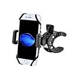 Support Vélo du Guidon Potensic® Support Vélo Universel Rack Cradle breveté avec 4 Caoutchouc Courroies et 360 °pour iPhone 6, ...