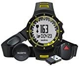 Suunto Quest GPS Pack de Montre/cardiofrequencemetre Noir