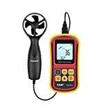 TASI Anémomètre Thermomètre Portable Mesure Température et Vitesse du Vent