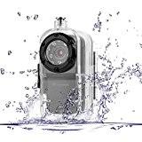 TEKMAGIC 1920x1080P HD Caméra Sportive Activé par son Mini Enregistrement Vidéo avec Fonction Photographique et IR Nuit Vision