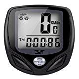 Tenswall Ordinateur Sans Fil de Vélo , Le Compteur du Vélo de Sport avec l'écran LCD Etanche -15 Fonctions : ...