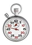 TFA 381022 Chronomètre mécanique en métal .