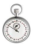 TFA Dostmann Chronomètre mécanique Métal Chromé