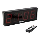 TIMER LED à 4 chiffres - Affichage sportif / Heure - Chronomètre - Minuteur d'intervalles / 43 x 16 x ...