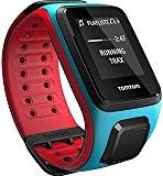 TOMTOM RUNNER 2 CARDIO ET MUSIC AVEC BRACELET LARGE BLEU ET ROUGE Montre GPS avec cardio intégré
