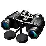 topop 8x 30Jumelles Prisme bak4Zoom Télescope compact pliant avec étui de transport, grossissement haute puissance pour oiseaux, concerts, Sport, Randonnée, ...