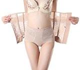 Toyobuy Femme Panty Montré Fesse Elastique Haute Taille Minceur Slip Slim Elastique Sculptante Lingerie Invisible