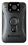 Transcend Caméra-Piéton TS32GDPB10A Enregistreur Vidéo Full HD 1080P avec Vision Nocturne et Carte microSD 32 Go incluse